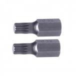 """M10 12kant 3/8""""(10mm) lühike L30 ots 2TK komplektis PR-10868"""