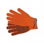 Töökindad suurus 8 täpiline oranž TR-74103