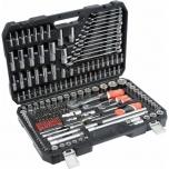 Tööriistakohver 216osa 1/2+3/8+1/4+torx+lehtv. 38841 =3884 h