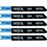Tikksaetera 70mm metalli 5TK, TÜÜP U, 36TPI, HSS 3442