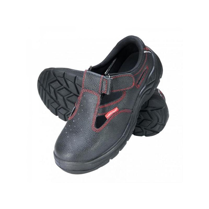 Sandaalid 39-47 mustad varbakaitse/turvajalatsid
