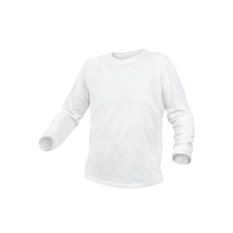 T-särk valge pikavarukaga 3XL 5K421-3XL