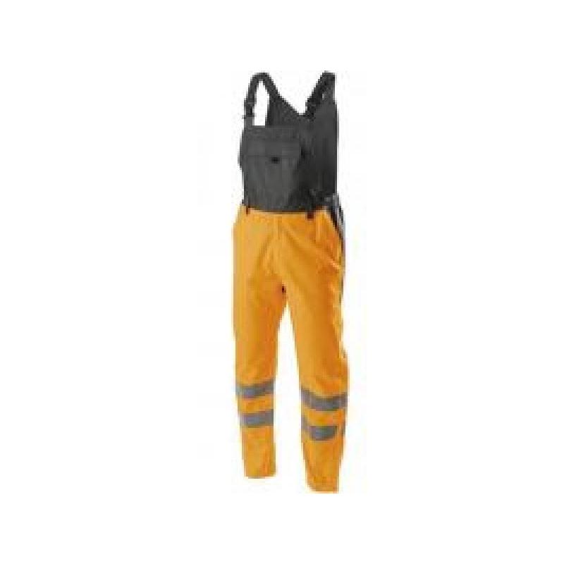 Helkurpüksid+traksid oranžid VOLME HI-vi M 5K343-M