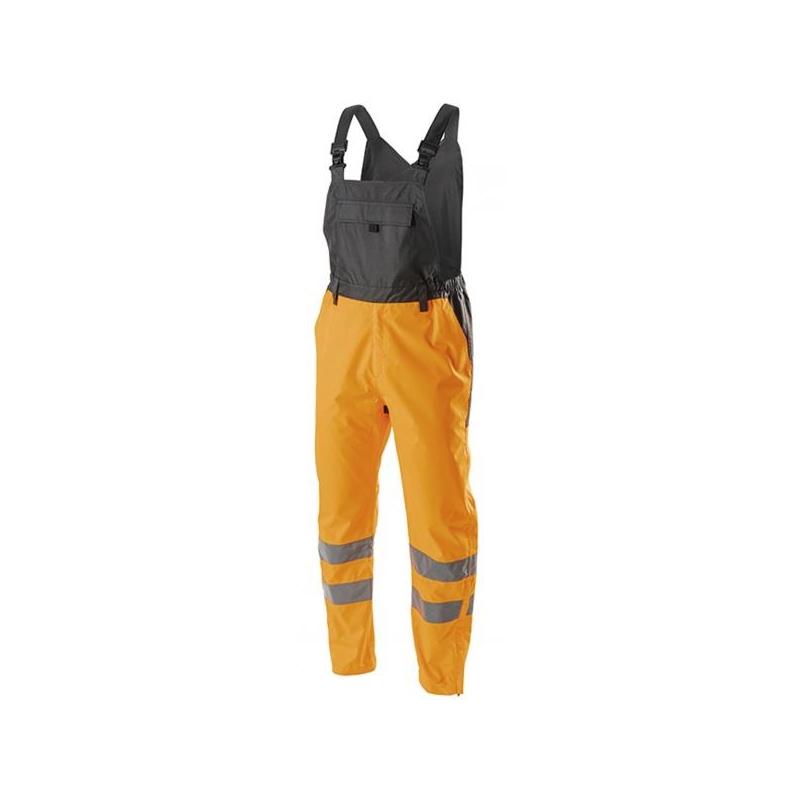 Helkurpüksid+traksid oranžid VOLME HI-vi L 5K343-L