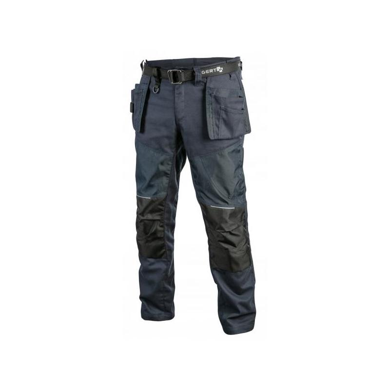 Tööpüksid +vöö sinine S 5k365-S