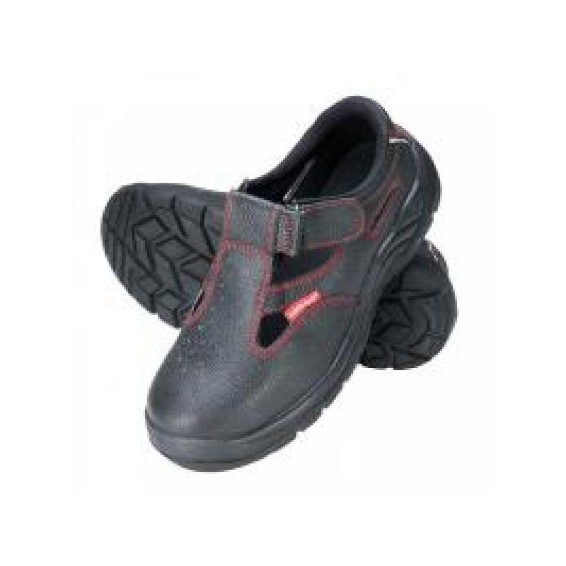Sandaalid nr45 mustad varbakaitse/turvajalatsid