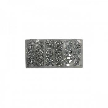 Liblikmutter m4-m10 150tk plastkarbis 06776