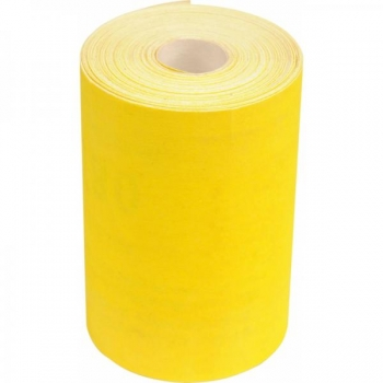 Liivapaber 100 1m hind (rullis 115mmx50m) kuiv kollane 8461