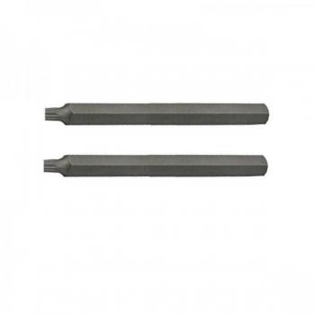 "M10 12kant 3/8""(10mm) XZN pikk L75 ots 2TK komplektis PR-10845"