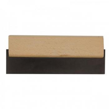 Pahtlilabidas kummist 150mm puidust käepide TR-06310