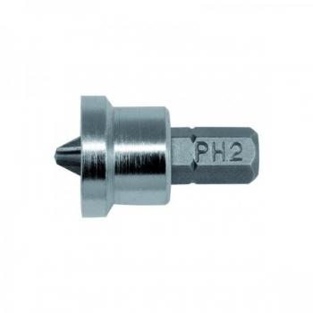 PH2 otsik + piirja 1/4 x 25 mm , 1tk 7980