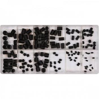 Stopperkruvi 160osa 3x5 4x5 5x6 6x10 8x10 10x10mm 06777