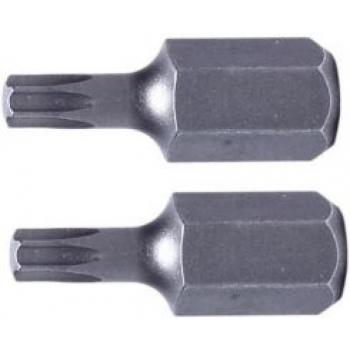 """T50 torx 3/8""""(10mm) lühike L30 ots 2TK komplektis PR-10853"""