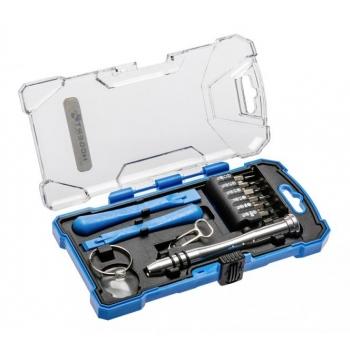 Telefonide ja sülearvutite täpsuskruvikeerajate komplekt 17osa 1S271