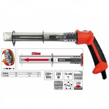 Termiline nuga 220mm/220W max450C 82190