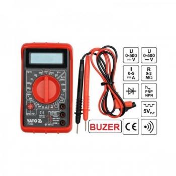 Tester-Digitaalmultimeeter kaitsva kattega 73080
