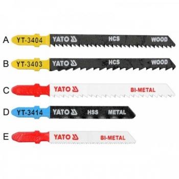 Tikksaelehed 5tk 2puidu 100/75mm 3metall .75/5 3445