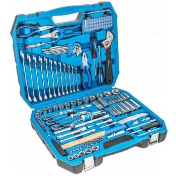 """Tööriistakomplekt 131osa 1/4"""" 3/8"""" 1/2""""  1R439"""
