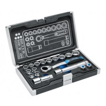 """Tööriistakomplekt 18osa 2 adapterit 1/4"""" ja 3/8"""" 1R478"""
