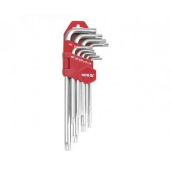 Torx võtmete kompl. T10-T50  0512 Yh