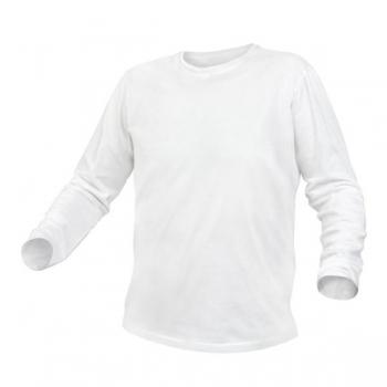 T-särk valge pikavarukaga XL 5K421-XL
