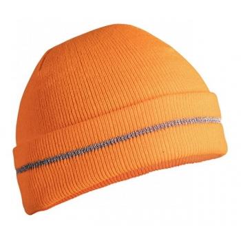 Kootud müts (oranž) 5k482