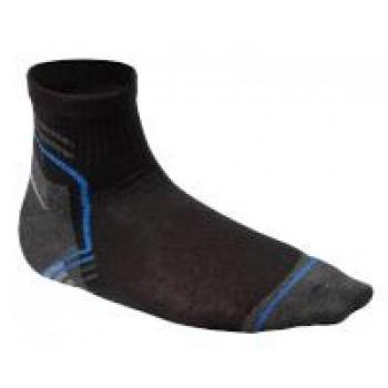 Sokid lühikesed must-grafiit-sinine 3 paari 5K452-39-40
