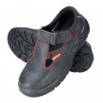 Sandaalid nr40 mustad varbakaitse/turvajalatsid