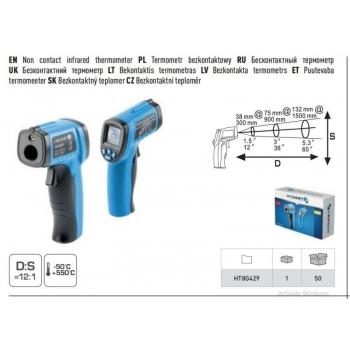 Kontaktivaba termomeeter -50 + 550°C 8G429