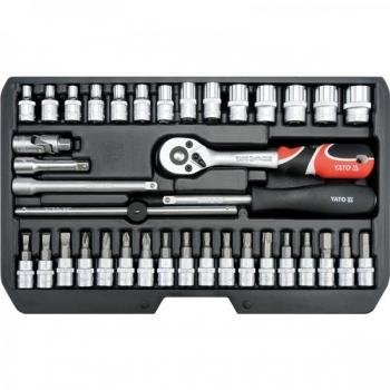 """Tööriistakohver 1/4"""" 38osa T+narre+padr+torx 14471 h"""