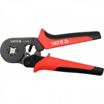 Hülsi pressimise tangid 0.2-6mm2 nelikant 180mm 2240 H