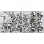 Keermeneetide komplekt (tõmbekeermed) M3-M10 150 tk alumiinium 36460