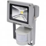LED prožektor +liikumisandur 10w 6000K 700lm 12m 220v  85x113 81801