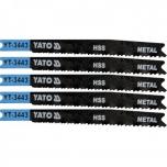 Tikksaetera 91,5mm metalli 5TK, TÜÜP U, 21-16TPI, HSS 3443