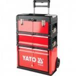 Tööriista kapp 3 osa + rattad 390x215x130 mm 09102