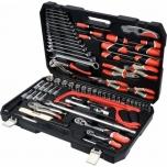 Tööriistakohver 79osa 1/4+1/2+saag+haam+näpits+võti 38911
