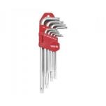 Torx võtmete kompl. T10-T50  0512 H