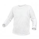 T-särk valge pikavarukaga M 5K421-M