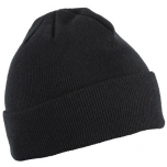 Müts kootud must suurus 57-61cm 5K473