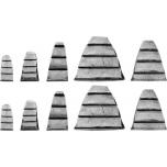 Metallkiil puit käepid.10tk. TR-99472