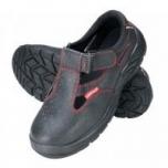 Sandaalid nr41 mustad varbakaitse/turvajalatsid