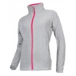 Naiste fliis lukuga hall/roosa suurus L L4010603