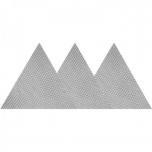 Abrasiivvõrk kolmnurk P60 velcro kinnitus 3tk 84610 e