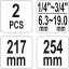 Mitmeotstarbelised klambritangid pehmetele klambritele YT-06465