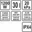 Tolmu-veeimeja tööstuslik 1600w 30L 16kPa TR-78873