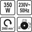 Elektrikäi 350W 200mm  2950p/min TR-79207